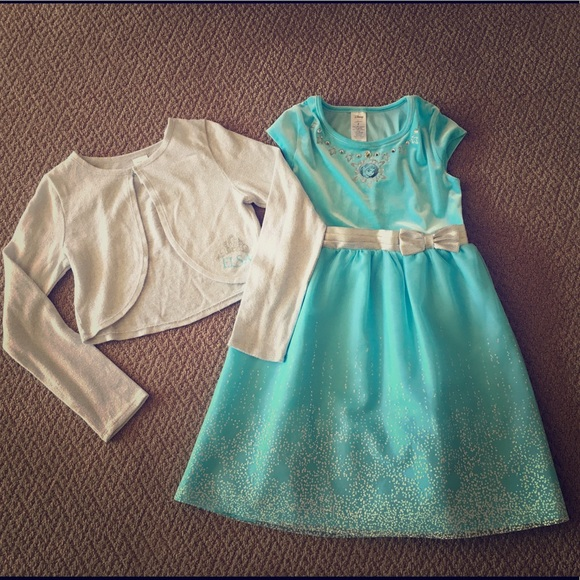 e01a9204869dc Disney Dresses | Sale Frozen Elsa Dress Sweater | Poshmark